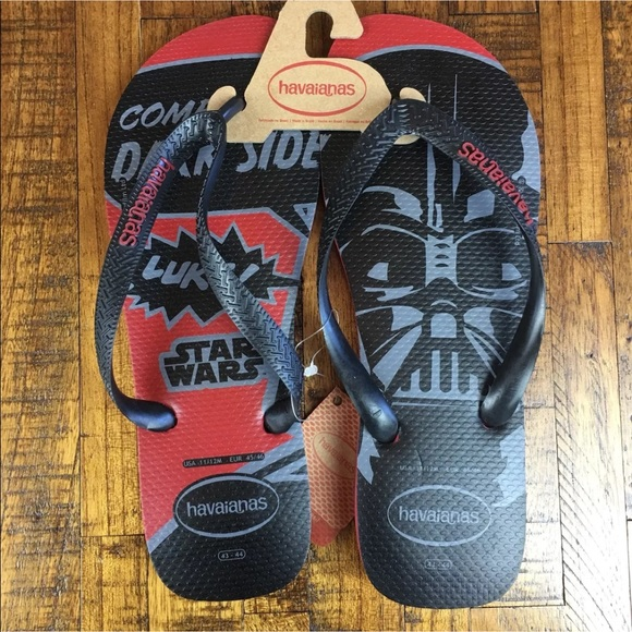 22c4fb8c6 NEW Havaianas Star Wars Flip Flops Sandals Disney